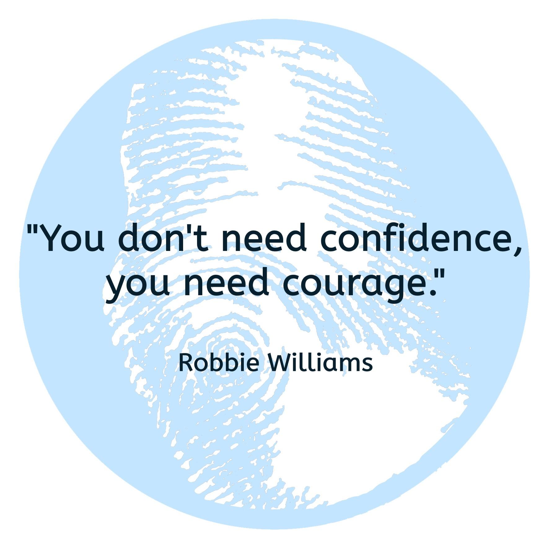 moed hebben